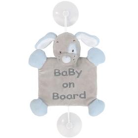 Игрушка мягкая Nattou Знак Baby on board Sam & Toby Собачка 604352