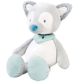 Игрушка мягкая Nattou Soft toy Tim & Tiloo Волк 75 см 498043